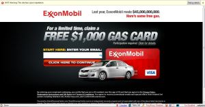 exxon mobile survey